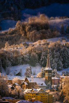 Mountain Village, Goldau, Switzerland photo via isabelle