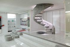Interior designed by Nanda Vigo for Giò Ponti's Casa Lo Scarabeo Sotto la Foglia (1965-68)