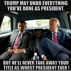 Worst President Ever: Obama's Title For Life!