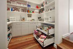 custom pantry.