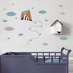 Sticker Cerf volant : Art for Kids - Berceau Magique