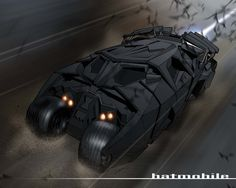 When i saw Batman Begins, I instantly fell in love with the new batmobile. It's unlike any other designs for the dark knight's transpo. The Batmobile Beware The Batman, The New Batman, Batman And Superman, Funny Batman, Batman Batmobile, The Dark Knight Trilogy, Batman The Dark Knight, Batman Dark, Luxury Sports Cars
