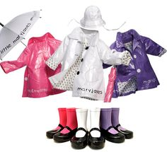little girls raincoats