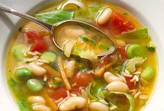 manger des soupes le soir pour maigrir
