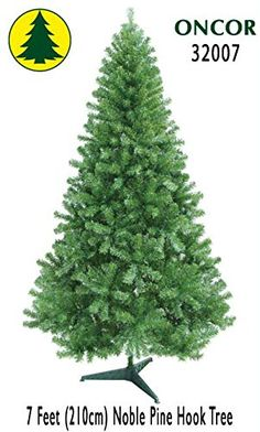 7ft Eco-Friendly Oncor Noble Pine Christmas Tree * See this great product @…