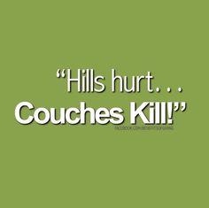 hurt a little is so much better!