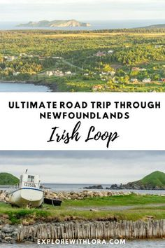 The Irish Loop is a beautiful drive in Newfoundland that takes you through coastal communities, historic sites, geological wonders, and more. Don't miss these amazing stops on the Irish Loop in Newfoundland! Includes the best places to visit and things to do, plus tips on where to stay. #irishloop #newfoundland #roadtrip Road Trip Hacks, Road Trips, Travel Usa, Travel Tips, Travel Destinations, Canadian Travel, Visit Canada, Newfoundland, Historical Sites