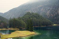 Alps lake by Javier Cortina