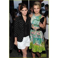 Dianna Agron Chrissy Teigen Coach Summer Party! ❤ liked on Polyvore