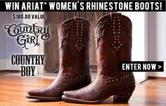 Enter to Win Below!, I want boots