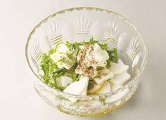 大根と青じそのサラダ  油の強い料理に、さっぱりとした大根がぴったり。漬物代わりになるような、新感覚の大根サラダです。