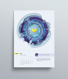 Изображение Creative Calendar, Kids Calendar, Graphic Design Magazine, Magazine Design, Calendar Layout, Calendar Design, Paper Design, Book Design, Web Design