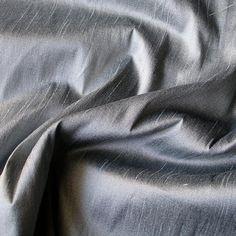 Pearl Grey Art Silk Fabric By The Yard Silk Curtain Fabric | Etsy