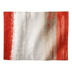 Threshold™ Ombre Print Warm Placemats Set of 4 - Red