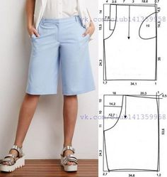 Sewing Pants Sewing Clothes Diy Clothes Clothes For Women Sewing Patterns Free Clothing Patterns Dress Patterns Women's Clothing Sewing Tools Dress Sewing Patterns, Sewing Patterns Free, Free Sewing, Clothing Patterns, Pattern Sewing, Free Pattern, Sewing Shorts, Sewing Clothes, Diy Clothes