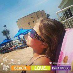 I am busy... busy tanning. #HiltonPensacolaBeach #BarefootMemories #PensacolaBeach