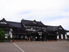 旧大社駅。大正ロマンな美しい建築!