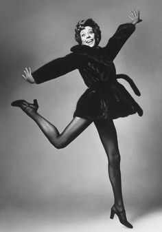 Carol. I know she is wearing a mink. I know how people have a problem with that. However, great picture of Carol Burnett.