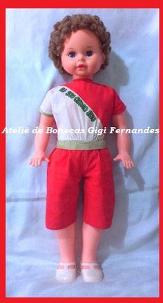 Restauração Boneca Dora, Estrela, 1985