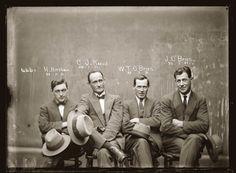 Hampton Hirscham, Cornellius Joseph Keevil, William Thomas O'Brien & James O'Brien | 20 de julho de 1921 | Bandidos dos anos 1920.