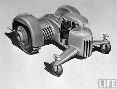Futuristic Industrial Design Show, retro_futurism — LiveJournal Futuristic Technology, Retro Futuristic, Vintage Comics, Vintage Posters, Ghost In The Machine, Train Truck, Bizarre, Truck Design, Transporter
