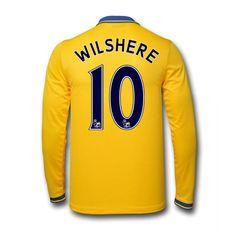 Customize Men's 2013/14 Arsenal FC Long Sleeve by SoccerAvenue, $69.95