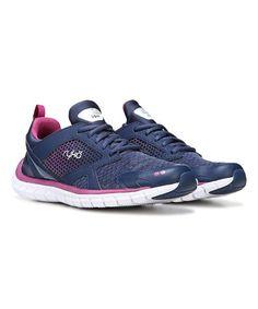 Navy Pria Running Shoe
