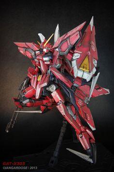 Amazing MG 1/100 Aegis Gundam Modeled by Ian Gardose