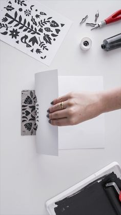 Check out our unique range of Scandinavian wallpaper, featuring a wonderful collection of natural textures & inspiring patterns. Stamp Printing, Screen Printing, Lino Art, Scandinavian Wallpaper, Stamp Carving, Handmade Stamps, Scandinavian Christmas, Christmas Decor, Tampons