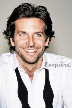 Bradley Cooper--YUMMY from here to the moon and back!!! Could swim in those baby blues all day long...