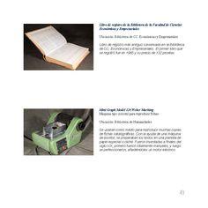 Libro de registro de la Biblioteca de la Facultad de Ciencias Económicas y Empresariales. Mini Graph Model 120 Weber Marking.