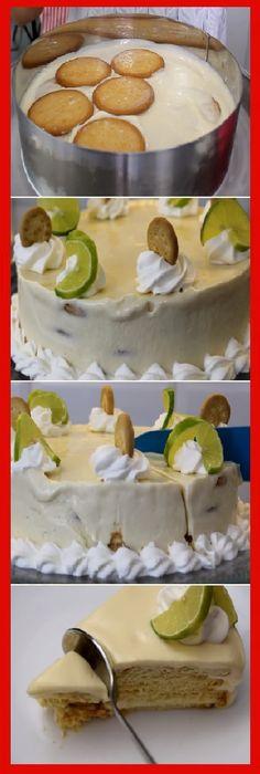 """A mi me fascina el pay de limón o Carlota de limón """"Postre sin horno! #receta #recipe #casero #torta #tartas #pastel #nestlecocina #bizcocho #bizcochuelo #tasty #cocina #cheescake #helados #gelatina #gelato #flan #budin #pudin #flanes #pan #masa #panfrances #panes #panettone #pantone #panetone #navidad #chocolate Si te gusta dinos HOLA y dale a Me Gusta MIREN."""
