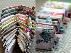 inspiration - - - pochette pour ranger dans son sac les petits mouchoirs - facilecécile