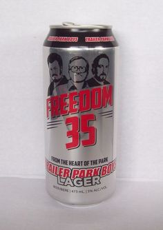 Trailer Park Boys TPB Empty Beer Can Freedom 35 Bubbles Julian Ricky Top Opened   eBay Trailer Park Boys, Empty, Freedom, Bubbles, Canning, Top, Liberty, Political Freedom, Home Canning