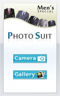 Photo Suit Android App for free to downlaod   https://play.google.com/store/apps/details?id=com.gamelezend.photosuit  You can check your self how you will look with a suit, and which color will suit you before buying suit. Which lets you try a different suits and check on yourself instantly at any where. You have a different suits to try . You can take a instant photo with suit.