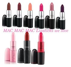 """one of the lipsticks we love best"" by minadinamike on Polyvore featuring beauty and MAC Cosmetics"