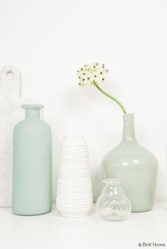 Woonaccessoires mintblauw en turquoise - Binti Home Shop
