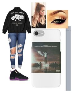 """Untitled #803"" by ilianavaldez on Polyvore featuring NIKE and Mon Cheri"