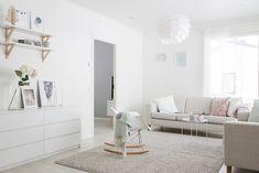 Boho Deco Chic Boho Deco, Scandinavian Living, Nordic Style, House Tours, Couch, Living Room, Furniture, Koti, Home Decor
