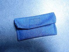 "DIY - Le ""kit"" de grande soeur (ou grand frère) - Pochette en jean"