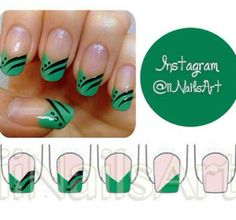 Nail art - http://yournailart.com/nail-art-215/ - #nails #nail_art #nail_design #nail_polish