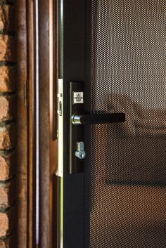 1000 ideas about security door on pinterest security for Locks for french doors that open out