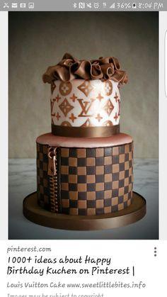 Louis Vuitton Cake Stencil For Sale