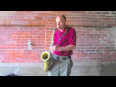 Popov, Saxophonist, Performs in NYC's Stars of the Streets Contest