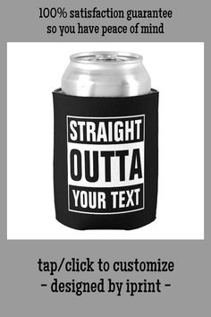 STRAIGHT OUTTA COMPTON STYLE BIRTHDAY MUG COASTER PERSONALISED ANY YEAR DAD GIFT