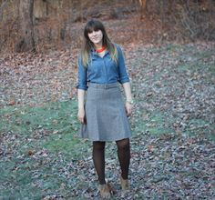 Chambray and Tweed