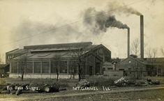 Cairo, Cincinnati, Cleveland, Illinois, Shop Buildings, Rare Images, New York Central, The Big Four, Photo Postcards