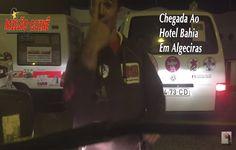 Chegada ao Hotel Bahia em Algeciras