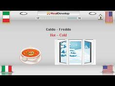 learn Italian vocabulary | Opposites | Part 1 - YouTube