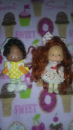 Vintage Strawberry Shortcake dolls ♡ GIN